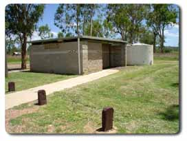 Toilets at Ban Ban Springs rest area