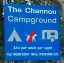 Channon campground