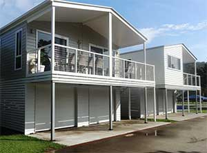 New 'annual' homes on site at Ingenia Holidays, Lake Conjola.