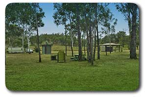 General view of Tolderodden Conservation Park rest area