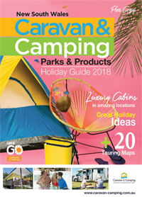 Caravan holiday brochure