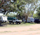 Free-camp area at Townsville