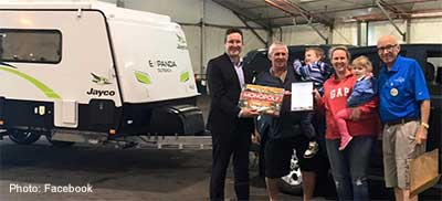 Caravanning Queensland achieves it 1000th RV safety check