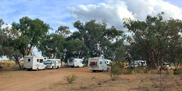 Stubby Bend free-camp
