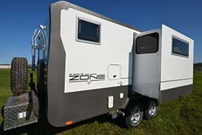Zone RV's first ever slide-out model